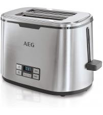 AEG AT7800-U 7 Series Digital Stainless Steel 2-Slice Toaster