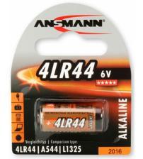 Ansmann 1510-0009 4LR44 6V Alkaline Cells Carded 1