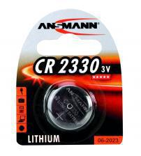 Ansmann 1516-0009 CR2330 3V Lithium Coin Cells Carded 1