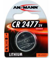 Ansmann 1516-0010 CR2477 3V Lithium Coin Cells Carded 1