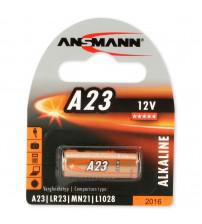 Ansmann 5015182 A23 12V Alkaline Cell Carded 1