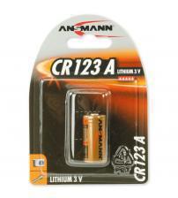 Ansmann 5020012 CR123A 3V Photo Lithium Battery Carded 1