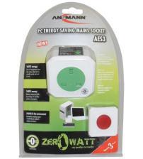 Ansmann 5024083/UK Zero Watt Energy Saving Mains Socket