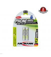 Ansmann 5035523 PhoneAkku NiMH 550mAh AAA Rechargeable Batteries Carded 2