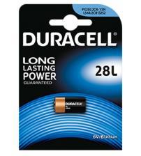 Duracell 28L PX28L 6V B Lithium Photo Lithium Battery Carded 1