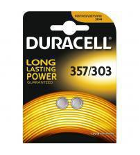 Duracell 357/303-C2 Silver Oxide 1.5V Watch Battery Carded 2