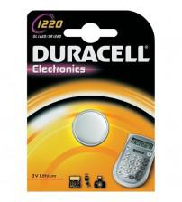 Duracell CR1220-C1 3V Lithium Coin Cells Carded 1