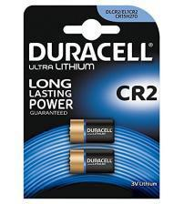 Duracell CR2-C2 3V Photo Lithium Battery Carded 2