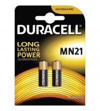 Duracell MN21 A23 LRV08 12V Specialist Alkaline Battery Carded 2