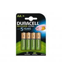 Duracell DURAA2400R2U Pre-charged Rechargeable  AA Batteries 2400mAH - Pack of 4