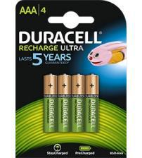 Duracell DURAAA800R2U 800mAh Pre-Charged AAA Batteries Carded 4