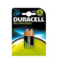 Duracell DURPP3170 Rechargeable Ultra High Power Ni-MH 170mAh 9V Battery