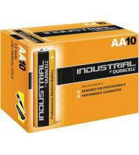 Duracell ID1500-L Industrial AA Standard Alkaline Batteries (Pack of 10)