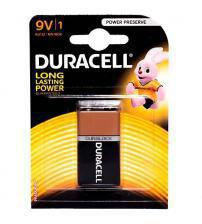 Duracell MN1604B1 Alkaline Plus Power PP3 9V Size Batteries Carded 1
