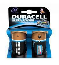 Duracell MX1300B2 1.5V Ultra Power D Batteries Carded 2