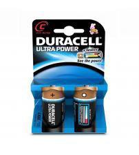 Duracell MX1400B2 Ultra Power 1.5V C Batteries Carded 2