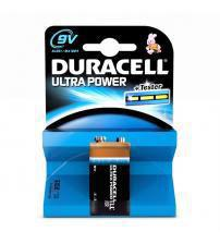 Duracell MX1604B1 Ultra Power Rechargeable PP3 9V Batteries Carded 1