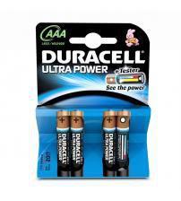 Duracell MX2400B4 Ultra Power Alkaline AAA Batteries Carded 4