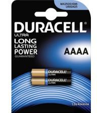 Duracell MX2500-C2 Alkaline 1.5V AAAA Batteries Carded 2