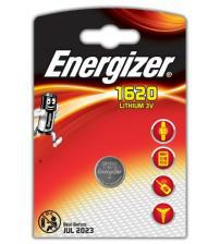 Energizer 632315 CR1620 3V Lithium Coin Cells Carded 1