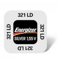 Energizer 633962 321 Silver Oxide 1.55V Watch Battery Carded 1