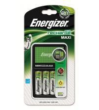 Energizer 635045 Maxi Charger with 4x AA 1300mAh Batteries