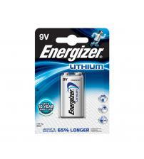 Energizer 635236 Ultimate Lithium 9V Battery Carded 1