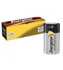 Energizer 636108 Industrial D Size Alkaline Batteries Pack of 12