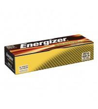 Energizer 636109 Industrial Alkaline PP3 9V Size Batteries (Pack of 12)