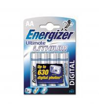 Energizer 636896 Ultimate Lithium AA Batteries Carded 4