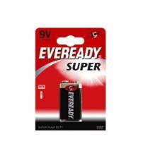 Energizer 637065 Eveready Super 9V Standard Zinc Batteries Carded 1