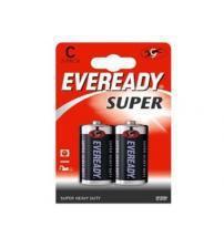Energizer 637085 Eveready Super C Size Standard Zinc Batteries Carded 2