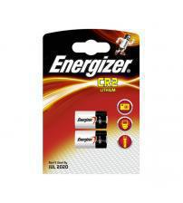 Energizer 638012 CR2 3V Photo Lithium Batteries Carded 2