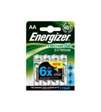4x Energizer 638589 AccuRechargeable AA Batteries 2300 mAH