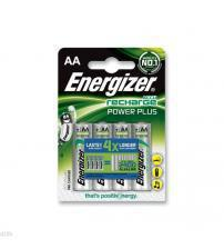 Energizer 638622 Rechargeable AA 2000mAh Batteries Carded 4