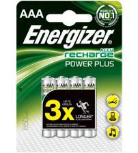 Energizer 638626 Pre Charged 700mAh AAA Rechargeable Batteries Carded 4