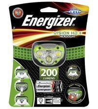Energizer E300280600 Vision HD+ Headlight with 3 x AAA Alkaline Batteries