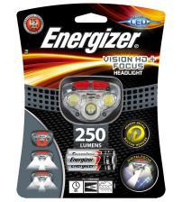 Energizer E300280700 Vision HD+ Focus Headlight with 3 x AAA Alkaline Batteries