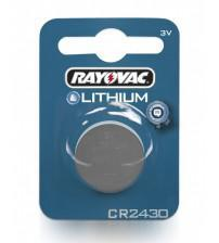 Rayovac RAY2430-C1 CR2430 3V Lithium Coin Cells Carded 1