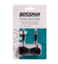 Bossman B2968 Stereo Jack 2mm Audio Cable