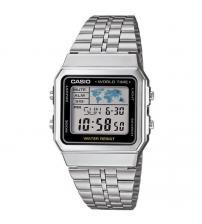 Casio A500WEA-1EF Mens Digtial Watch with World Time