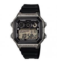 Casio AE-1300WH-8AVEF Digital Multi Sport Timer Watch - Black