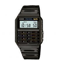 Casio CA-53W-1ER Mens Water Resistant Resin Strap Quartz Calculator Watch