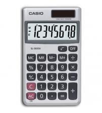 Casio SL-300SV 8 Digit Display Pocket Calculator with Two Way Power