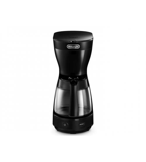 Delonghi ICM16210BK 1000W 1.25L Filter Coffee Machine - Black