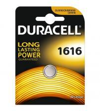 Duracell CR1616-C1 3V Lithium Coin Cells Carded 1