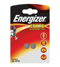 Energizer 635823 EPX76 Photo Silver Oxide 1.5V Watch Battery Carded 2