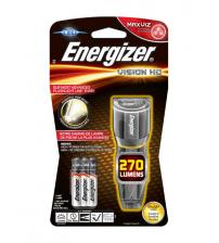 Energizer S12116 Metal Vision HD LED Torch with 3x AAA Batteries