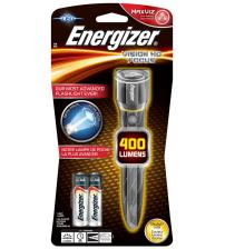 Energizer S12117 Metal Vision HD LED Torch with 2x AA Batteries