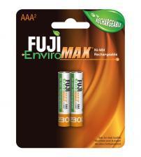 Fuji J10-9400BP2 EnviroMax 1000mAh AAA Rechargeable Batteries Carded 2